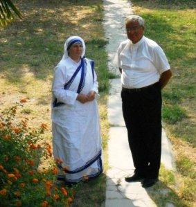 Sister Maria Goretti and Father Anton Kcira