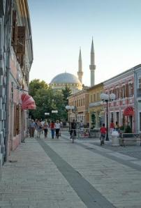 """The """"pedonale"""" in Shkodra."""
