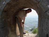 Vince at Rozafa Castle