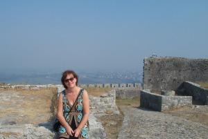 Me at Rozafa Castle